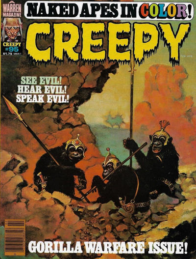 Cover for Creepy (Warren, 1964 series) #95
