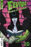 Cover for Elvira: Mistress of the Dark (Dynamite Entertainment, 2018 series) #4 [Cover B Craig Cermak]