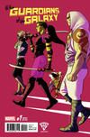 Cover Thumbnail for All-New Guardians of the Galaxy (2017 series) #1 [Fried Pie Exclusive Kris Anka Variant]