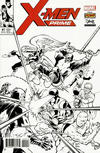 Cover Thumbnail for X-Men Prime (2017 series) #1 [Todd Nauck 'Stan Lee Box' Exclusive Black and White]