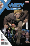 Cover Thumbnail for X-Men: Blue (2017 series) #5 [Second Printing]