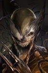 Cover Thumbnail for Venom (2017 series) #6 [ComicXposure Exclusive Francesco Mattina 'Venomized X-23' Virgin Art - Cover D]