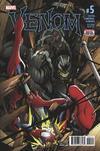 Cover for Venom (Marvel, 2017 series) #5 [Second Printing]
