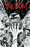 Cover Thumbnail for Venom (2017 series) #3 [KRS Comics Exclusive Tyler Kirkham Black and White Variant]