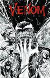 Cover for Venom (Marvel, 2017 series) #3 [KRS Comics Exclusive Tyler Kirkham Black and White Variant]