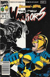 Cover for The New Warriors (Marvel, 1990 series) #33 [Newsstand]