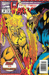 Cover for The New Warriors (Marvel, 1990 series) #42 [Newsstand]