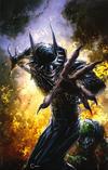 Cover Thumbnail for The Batman Who Laughs (2019 series) #1 [Scorpion Comics Exclusive Clayton Crain Virgin Cover]