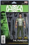Cover for Secret Empire (Marvel, 2017 series) #4 [John Tyler Christopher Action Figure (Hydra Punisher)]