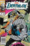 Cover for Deathlok (Marvel, 1991 series) #8 [Newsstand]