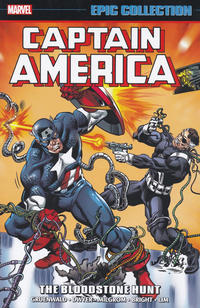 Cover Thumbnail for Captain America Epic Collection (Marvel, 2014 series) #15 - The Bloodstone Hunt