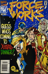 Cover Thumbnail for Force Works (Marvel, 1994 series) #8 [Newsstand]