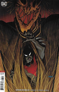 Cover for Batman Beyond (DC, 2016 series) #23