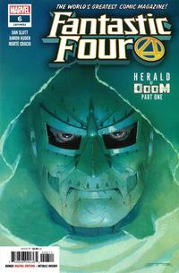 Cover Thumbnail for Fantastic Four (Marvel, 2018 series) #6 (651)