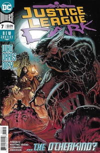 Cover Thumbnail for Justice League Dark (DC, 2018 series) #7 [Alvaro Martinez Bueno & Raul Fernandez Cover]
