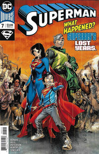Cover Thumbnail for Superman (DC, 2018 series) #7 [Ivan Reis & Joe Prado Cover]