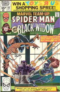 Cover Thumbnail for Marvel Team-Up (Marvel, 1972 series) #98 [British]