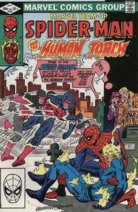 Cover Thumbnail for Marvel Team-Up (Marvel, 1972 series) #121 [Direct]
