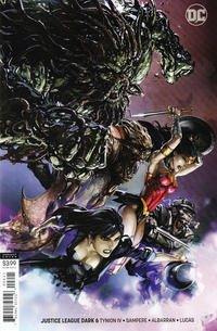 Cover Thumbnail for Justice League Dark (DC, 2018 series) #6 [Clayton Crain Variant Cover]