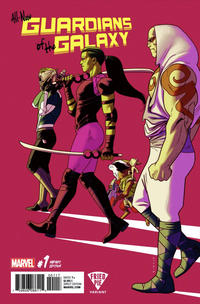 Cover Thumbnail for All-New Guardians of the Galaxy (Marvel, 2017 series) #1 [Fried Pie Exclusive Kris Anka Variant]