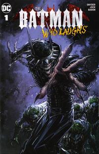 Cover Thumbnail for The Batman Who Laughs (DC, 2019 series) #1 [Scorpion Comics Exclusive - Clayton Crain]