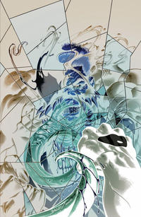 Cover Thumbnail for Venom (Marvel, 2017 series) #6 [Scorpion Comics Exclusive Mark Bagley 'Negative Art']