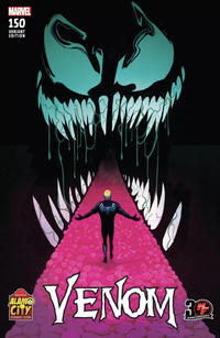 Cover Thumbnail for Venom (Marvel, 2017 series) #150 [2017 Alamo City Comic Con / Heroes & Fantasies Exclusive - Mike Del Mundo]
