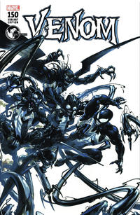 Cover Thumbnail for Venom (Marvel, 2017 series) #150 [Unknown Comics & Games Exclusive - Clayton Crain B]