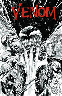 Cover Thumbnail for Venom (Marvel, 2017 series) #3 [KRS Comics Exclusive Tyler Kirkham Black and White Variant]