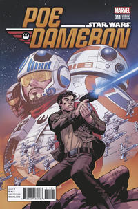 Cover Thumbnail for Poe Dameron (Marvel, 2016 series) #11 [Incentive Reilly Brown Variant]
