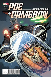 Cover Thumbnail for Poe Dameron (Marvel, 2016 series) #10 [Incentive Danillo Beyruth Variant]
