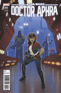 Cover Thumbnail for Doctor Aphra (Marvel, 2017 series) #5 [Joe Quinones]