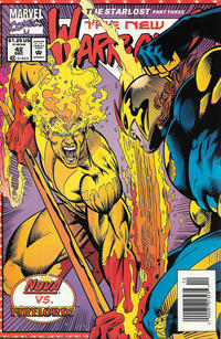 Cover Thumbnail for The New Warriors (Marvel, 1990 series) #42 [Newsstand]