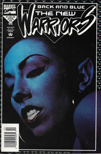 Cover Thumbnail for The New Warriors (Marvel, 1990 series) #44 [Newsstand]