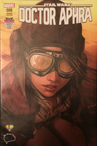 Cover Thumbnail for Doctor Aphra (Marvel, 2017 series) #8 [Brain Trust Exclusive Color - Ashley Witter]