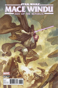 Cover Thumbnail for Star Wars: Mace Windu (Marvel, 2017 series) #3 [Incentive (1:25) Julian Totino Tedesco Cover]