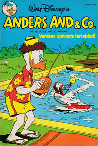 Cover Thumbnail for Anders And & Co. (Egmont, 1949 series) #31/1980