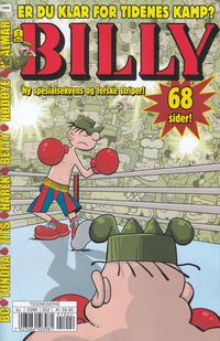 Cover Thumbnail for Billy (Hjemmet / Egmont, 1998 series) #2/2019
