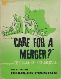 Cover Thumbnail for Care for a Merger? (E. P. Dutton, 1958 series)