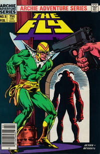 Cover Thumbnail for The Fly (Archie, 1983 series) #5 [Newsstand]