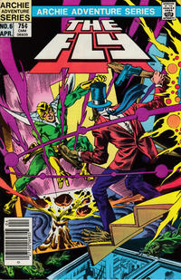 Cover Thumbnail for The Fly (Archie, 1983 series) #6 [Newsstand]