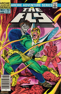 Cover Thumbnail for The Fly (Archie, 1983 series) #8 [Newsstand]
