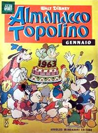 Cover Thumbnail for Almanacco Topolino (Arnoldo Mondadori Editore, 1957 series) #73