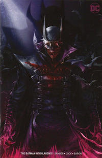 Cover for The Batman Who Laughs (DC, 2019 series) #1 [Blank Cover]