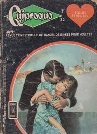 Cover Thumbnail for Quiproquo (Arédit-Artima, 1963 series) #32