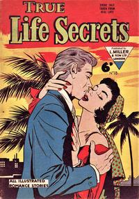 Cover Thumbnail for True Life Secrets (L. Miller & Son, 1952 series) #18