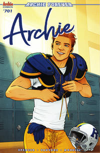 Cover Thumbnail for Archie (Archie, 2015 series) #701 [Cover B - Jen Bartel]