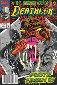 Cover Thumbnail for Deathlok (Marvel, 1991 series) #13 [Newsstand]