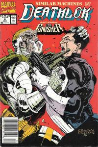 Cover Thumbnail for Deathlok (Marvel, 1991 series) #6 [Newsstand]
