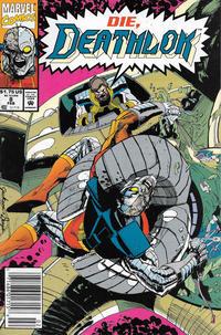 Cover Thumbnail for Deathlok (Marvel, 1991 series) #8 [Newsstand]